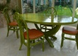 Table - en rotin - pour veranda - contemporaine - VALENCE - ovale